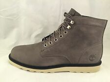 Timberland Men's Earthkeepers Newmarket Leather Gray Ankle Shoes Syle #6813A