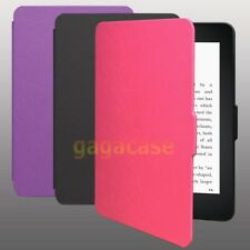 Deluxe PU Leather Slim Smart Cover Folio Case For 2014 Amazon Kindle 7 eReaders