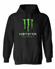 MONSTER CUSTOM HOODIE. energy hooded motocross gp ama superbike drifting rampage