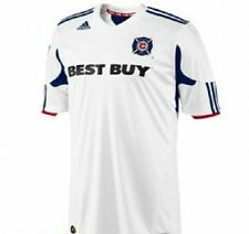 Chicago Fire Jersey - White Adidas ClimaCool New