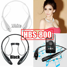 New HBS-800 wireless bluetooth headset stereo tone ultra for iPhone Samsung LG