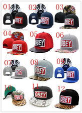 2014 New Fashion OBEY Hip-hop Baseball Cap Adjustable Snapback Unisex 03