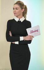 Hot Selling Office Lady Collared Stretchy Pencil Dress For Business Party 1016