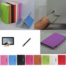 "Colorful Flip Leather Case+Stylus+Film For 10.1"" Intel ECS TA10CA3 Andriod Table"