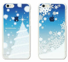 Apple iPhone 5S / 6 6 Plus Case Ultra Thin Slim White Christmas Skin Back Cover