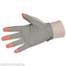 Glacier Glover Fingerless Sungloves - Ideal For Outdoor Sports Including Fishing