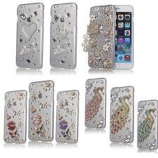 FOR APPLE IPHONE 6 Plus [5.5] 3D LUXURY BLING CRYSTAL DIAMOND CASE COVER