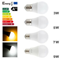 110V220V E27 3W 5W 9W LED Energy Save Globe Light Warm Cool white Ball Lamp Bulb