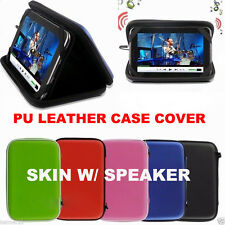 """NICE Pu Leather Case Cover skin  w/ Speaker For 7"""" RCA 7 Inch Android Tablet TY5"""