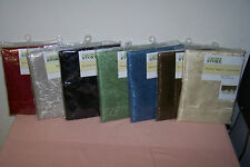 "Window Valance Assortment 60"" x 19"" New in Pack You Choose Color (6 Choices) WOW"