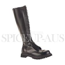 Demonia Shoes ROCKY-30 Boots Heels Black Gothic Sexy