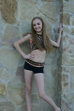 NEW CALIFORNIA KISSES 2PC NEON VARSITY CHEETAH HIGH NECK TOP & SHORTS S M L XL