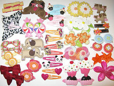 Gymboree Your Choice Snap Clip Claw Barrettes Daisy Snow Cupcake Jungle Desert