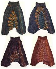 ALI BABA BAGGY PANTS hippy trousers yoga boho crotch harem aladdin womens genie