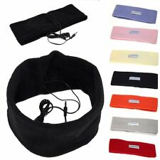 Soft Warm Sleeping Headphones Headset Headband Mask for Mobile Phone/Samsung/HTC
