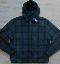 NAUTICA (Night Forrest) Sherpa Lined  Hoodie w/Full Zip Men's - NWT ($79.99)