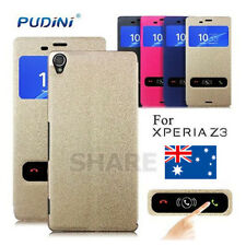 Cover S View Flip PUDINI For Sony Xperia Z3 Case