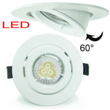 10X 9W 6W Ø102mm White LED Recessed Ceiling Down light Spot GU10 240V dimmable