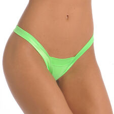 WOMENS EXOTIC DANCER/STRIPPER WIDE BAND THONG! NWT! 5 COLORS!