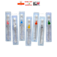 1x 100x CANNULA VENFLON WITH INJECTION PORT & WINGS 23G BLUE FAST SHIPP CHEAPEST