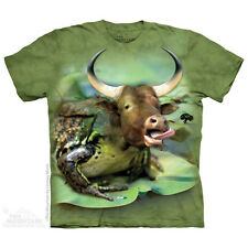 Bullfrog T-Shirt by The Mountain. Big Face Farm Sizes S-5XL NEW
