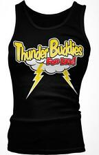 Thunder Buddies For Life Funny Friends Besties Movie BFF's Boy Beater Tank Top