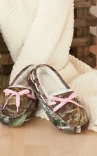 WOMEN REAL TREE FAUX FUR MOCCASINS SLIPPERS SHOES Northern Trail Warm Camouflage