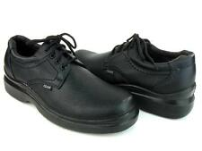 Men's Kitchen Non-slip Lace Up Working Skid Resistance Synthetic Shoes Black