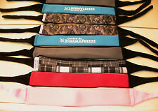 ThermaFreeze~ICE GEL Cooler Neck Wrap Bandana + 1 FREE insert~YOUR COLOR CHOICE