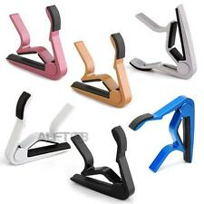Metal Quick Change Trigger Tune Key Capo Clamp for Acoustic Electric Guitar