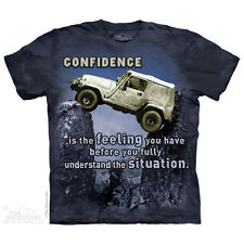 Jeep Outdoor T-Shirt by The Mountain. 4wheel Drive Rock Climbing Sizes S-5XL NEW