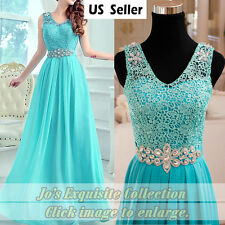 Chiffon Long Formal Dress Bridesmaid Evening Ball Gown Prom Party Cocktail Dress
