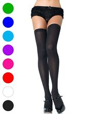 Plus Size Opaque Knit Over Knee Thigh High Stockings - Leg Avenue 6672Q