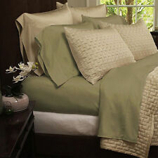 BAMBOO HOTEL COMFORT 4 PIECE BED SHEET SET 1800 SERIES WRINKLE FREE SUPER SOFT