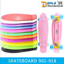 """New 22"""" Professional Plastic Penny Style Skateboard Completed Free Delivery"""