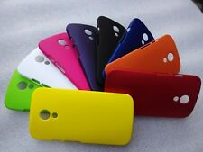 Premium Rubberized Matte Finished Back Case Cover For Moto G2 2nd Generation