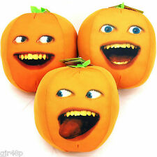 """The Annoying Orange 7.5 """" Inch Talking Soft Toy Choice Of 3 Design Or Set All 3"""