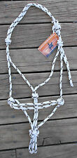 HORSEMANS BUDGET ROPE HALTERS - PROFESSIONALLY MADE- Draft to Mini Sizes