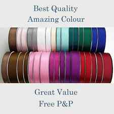 BEST QUALITY 1.5M Cut Lengths Satin Ribbon 15/20/25/38mm Craft Gift FREE P&P-