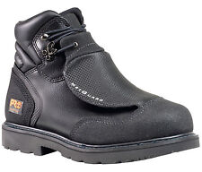 Men's Timberland PRO 40000 6-Inch Met Guard Steel Toe Boot Black Leather (E,W)