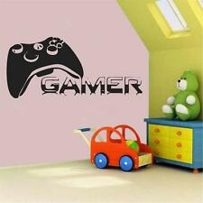 Gamer Vinyl Wall Decal Sticker Xbox 360 Xbox One Controller Video Game Wireless