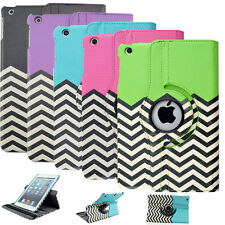 360 Rotating Leather Case Cover For Apple iPad 2 3 4 & mini 1 2 & Air 2 Stand