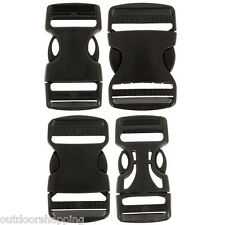 Dual Adjust Side Release Buckle - Great For Waist Belts On Packs, High Quality
