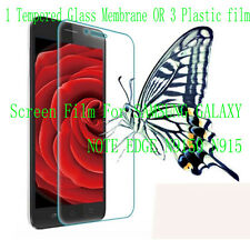 PVC Tempered Glass Screen Protector Film For SAMSUNG GALAXY NOTE EDGE N9150 N915