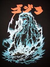 GODZILLA Gojira Kaiju King Monsters Limited Edition Mens Black T-Shirt (M-2XL)