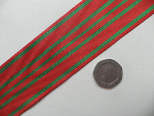 Belgian Croix De Guerre,WWI  replacement medal ribbon, Full Size. Free Postage.