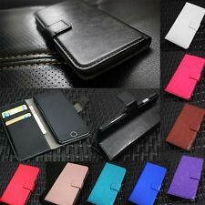 Luxury Glossy Leather Flip Case Cover Wallet Card Holder For Samsung Galaxy