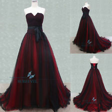 New Formal Long Party Bridesmaid Prom Ball Gowns Evening Dress Size 6 8 10 12 14