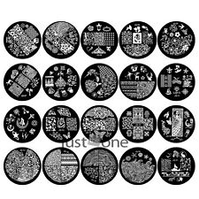 New Chic Design JQ Series Nail Art Image Stamp Stamping Plates Manicure Template