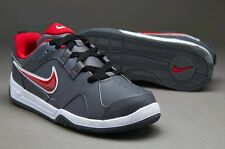 Nike Boys Lykin 11 Grey and Red Casual Trainers